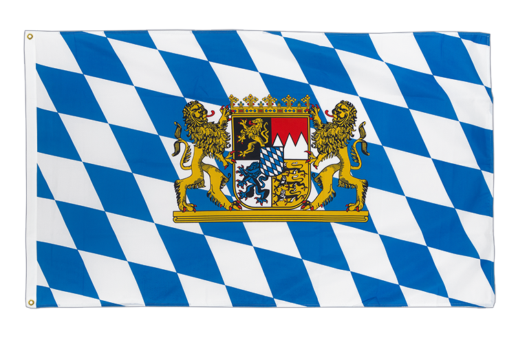 Premium Flag Bavaria lion - 3x5 ft CV