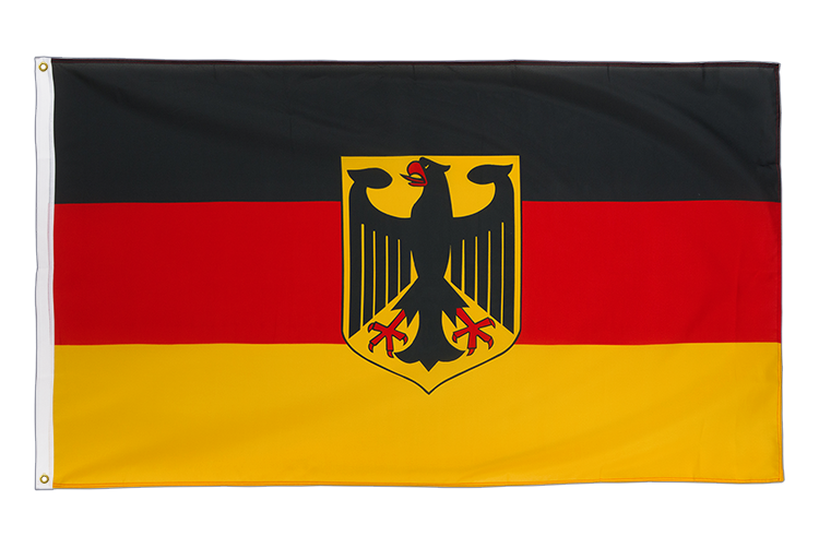 Premium Flag Germany Dienstflagge - 3x5 ft CV