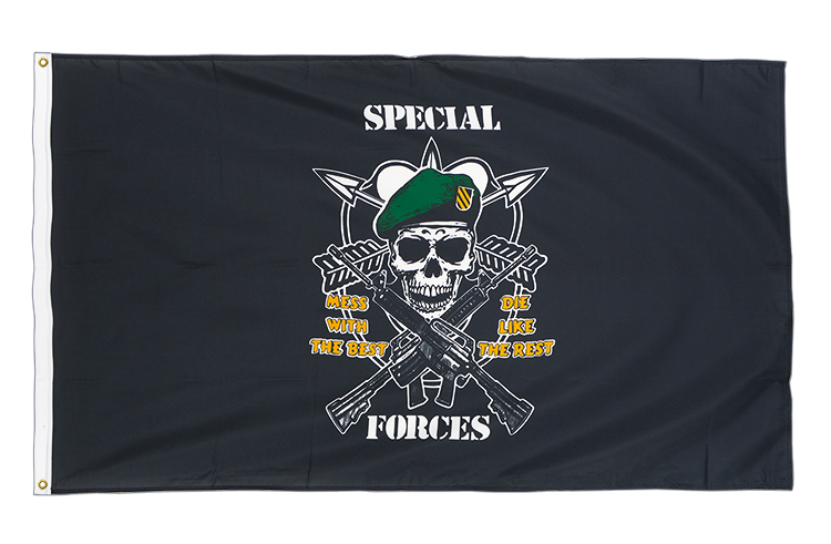 Premium Flag Pirate Specialforces - 3x5 ft CV