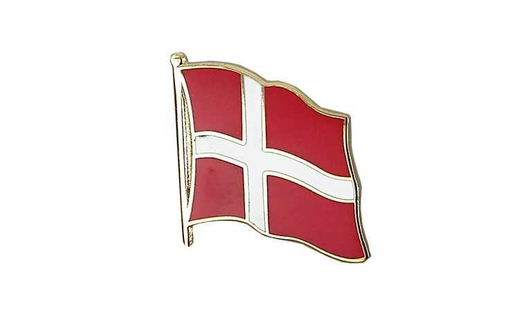 Denmark Flag Lapel Pin