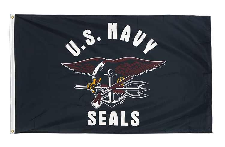 Premium Flag USA Navy Seals - 3x5 ft CV
