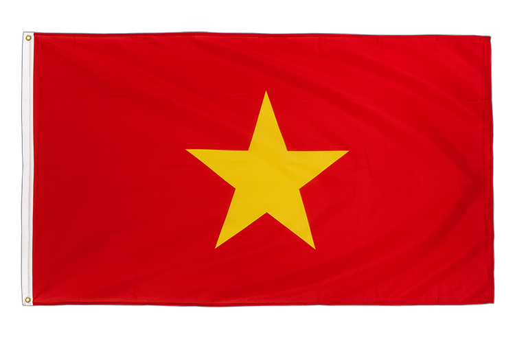 Vietnam Flag - 3x5 ft CV