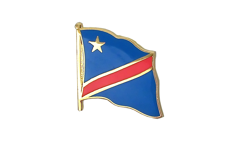 Flag Lapel Pin Democratic Republic of the Congo