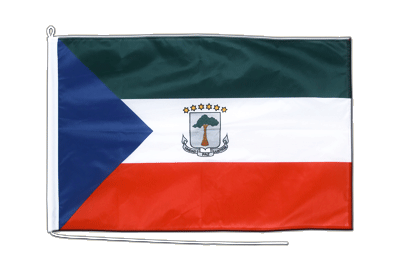 Midsize Equatorial Guinea Boat Flag - 2x3 ft