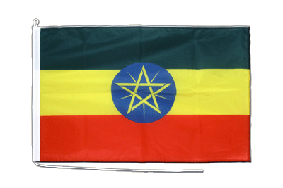 Boat Flag PRO Ethiopia with star - 2x3 ft