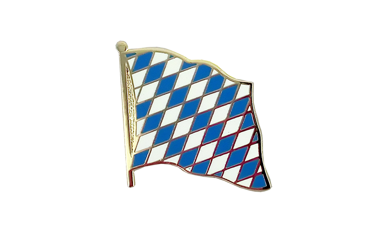 Flag Lapel Pin Bavaria without crest