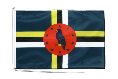 Dominica Boat Flag PRO 2x3 ft