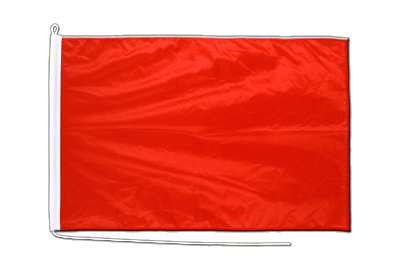 Midsize red Boat Flag - 2x3 ft