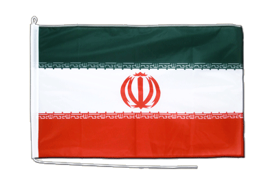 Midsize Iran Boat Flag - 2x3 ft