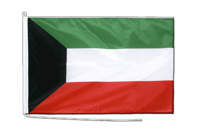 Midsize Kuwait Boat Flag - 2x3 ft