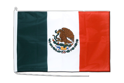 Midsize Mexico Boat Flag - 2x3 ft