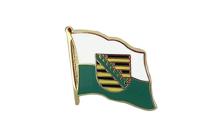 Flag Lapel Pin Saxony