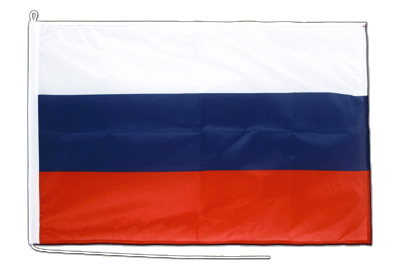 Russland - Bootsflagge PRO 60 x 90 cm