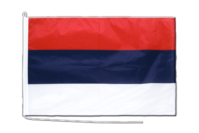 Boat Flag PRO Serbia - 2x3 ft