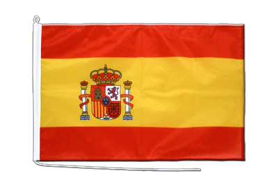 Boat Flag PRO Spain with crest - 2x3 ft