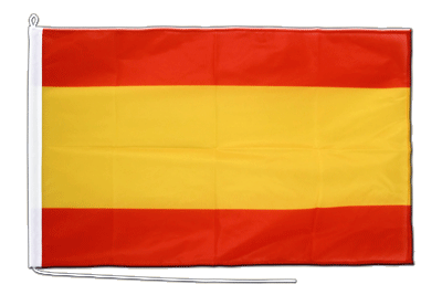 Midsize Spain without crest Boat Flag - 2x3 ft