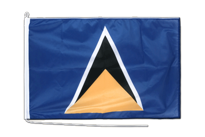 St. Lucia - Bootsflagge PRO 60 x 90 cm