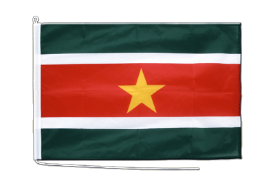 Boat Flag PRO Suriname - 2x3 ft