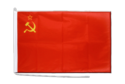 Mittlere Bootsflagge/Bootsfahne UDSSR Sowjetunion - 60 x 90 cm
