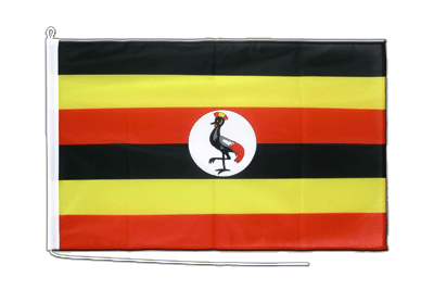 Midsize Uganda Boat Flag - 2x3 ft