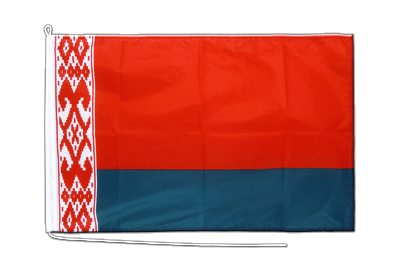 Weißrussland - Bootsflagge PRO 60 x 90 cm