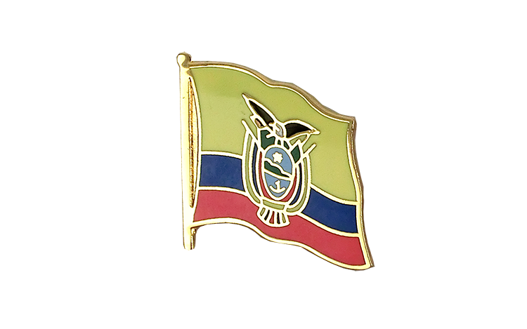 Flag Lapel Pin Ecuador