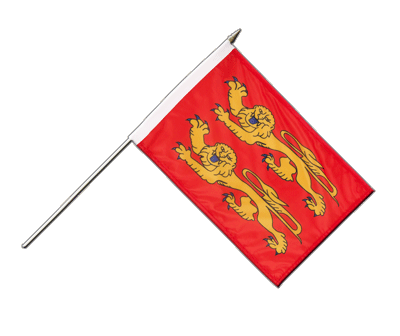 "Hand Waving Flag Basse Normandy - 12x18"" (30 x 45 cm)"
