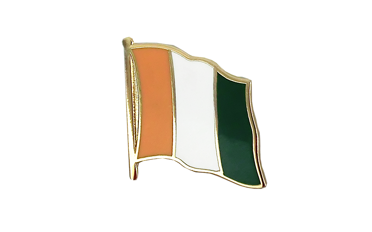Flag Lapel Pin Ivory Coast