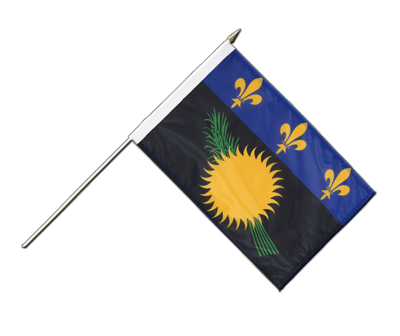 Guadeloupe - Stockflagge PRO 30 x 45 cm