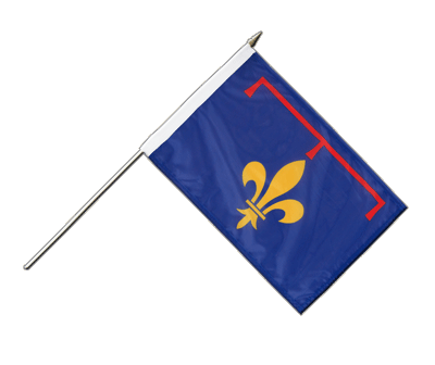 Provence Stockflagge PRO 30 x 45 cm