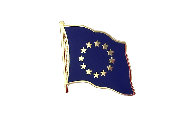 Flag Lapel Pin European Union EU