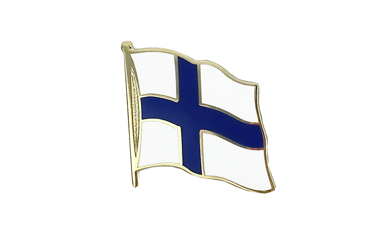 Flag Lapel Pin Finland