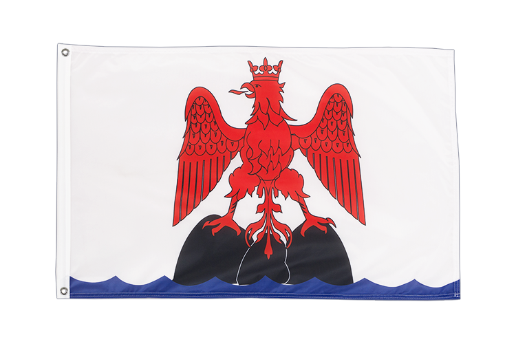 Grommet Flag PRO County of Nice - 2x3 ft