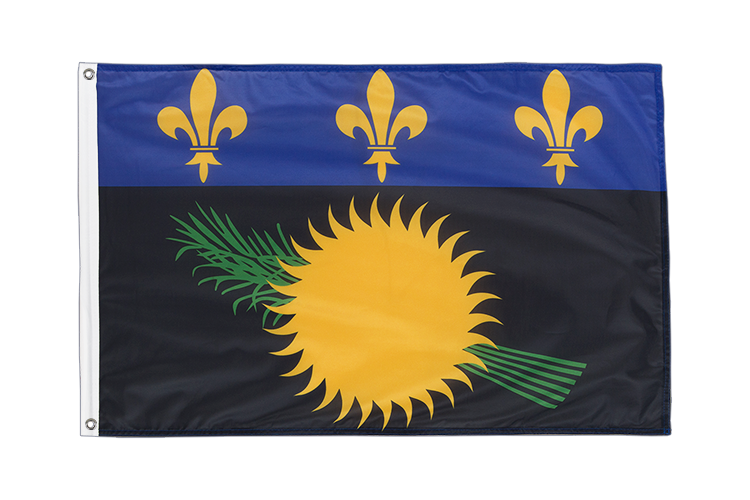Grommet Flag PRO Guadeloupe - 2x3 ft