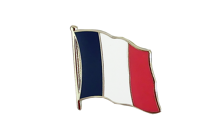 Flag Lapel Pin France