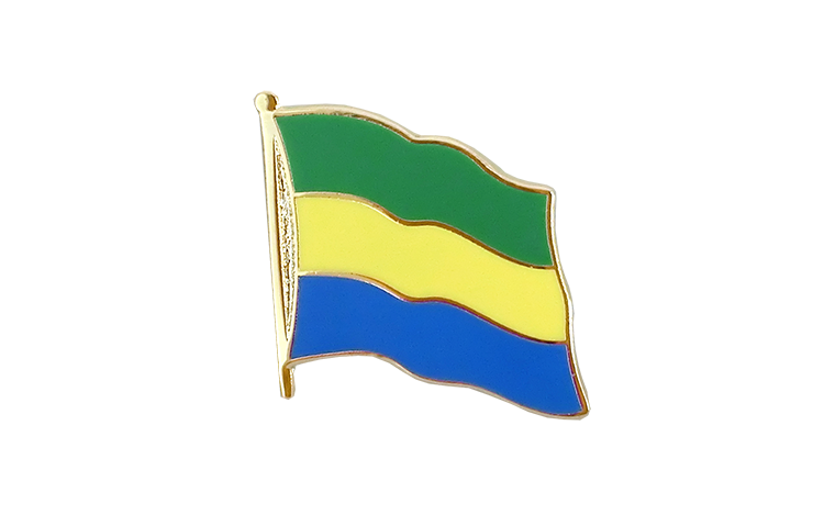 Flag Lapel Pin Gabon