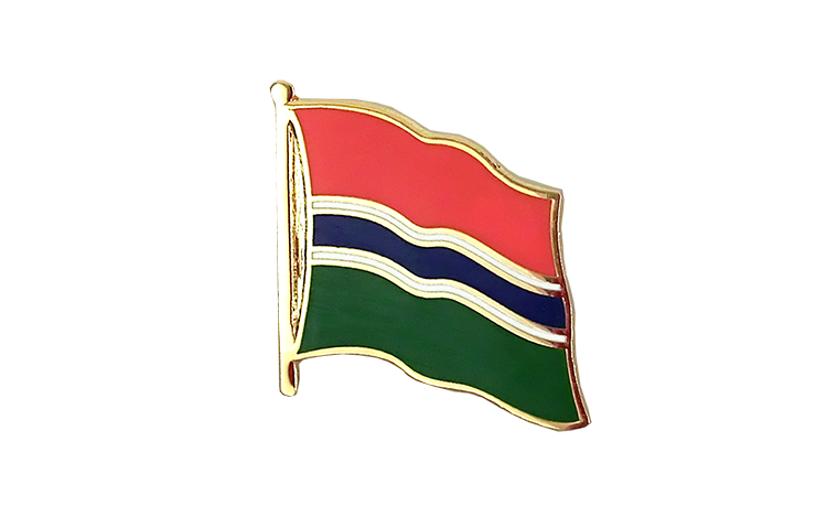Flag Lapel Pin Gambia