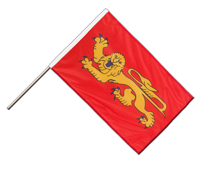 Hand Waving Flag PRO Aquitaine - 2x3 ft (60 x 90 cm)