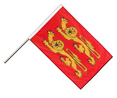 Hand Waving Flag PRO Basse Normandy - 2x3 ft (60 x 90 cm)