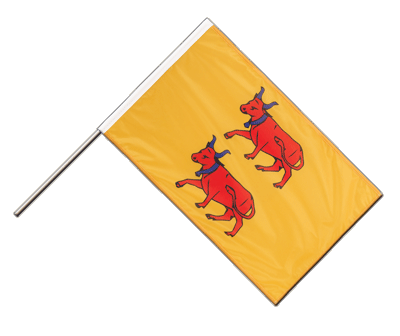 Hand Waving Flag PRO Béarn - 2x3 ft (60 x 90 cm)