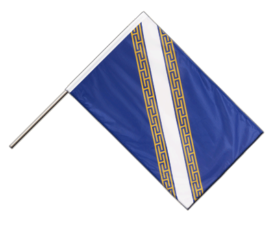 Hand Waving Flag PRO Champagne-Ardenne - 2x3 ft (60 x 90 cm)