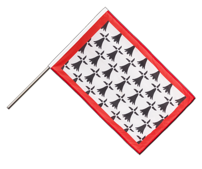 Hand Waving Flag PRO Limousin - 2x3 ft (60 x 90 cm)