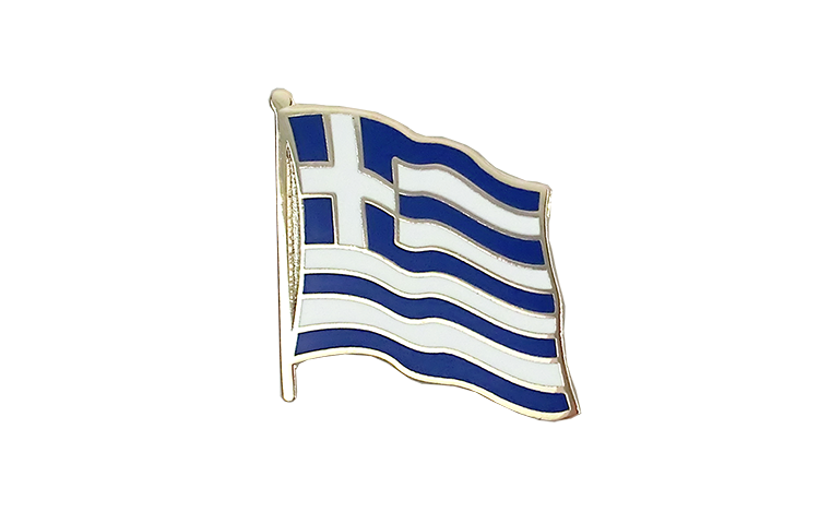 Flag Lapel Pin Greece