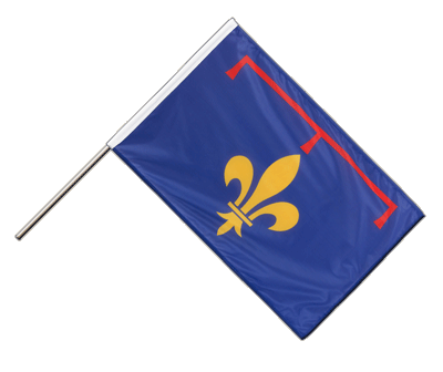 Provence Stockflagge - 60 x 90 cm PRO