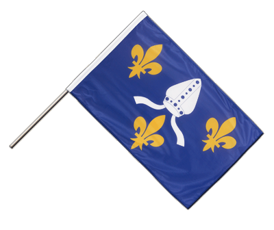 Hand Waving Flag PRO Saintonge - 2x3 ft (60 x 90 cm)