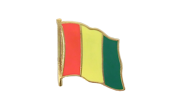 Flag Lapel Pin Guinea