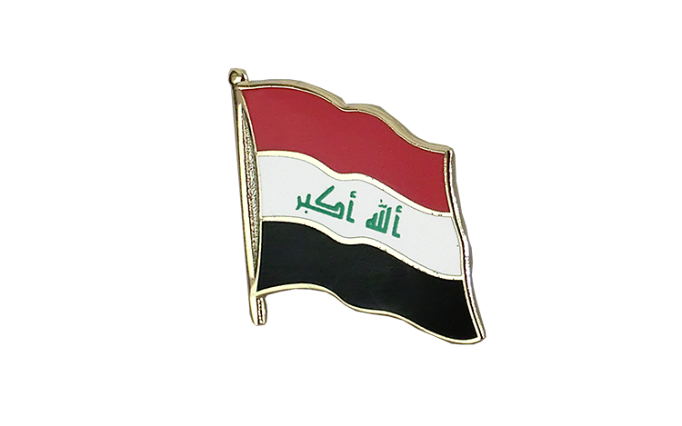Flag Lapel Pin Iraq 2009