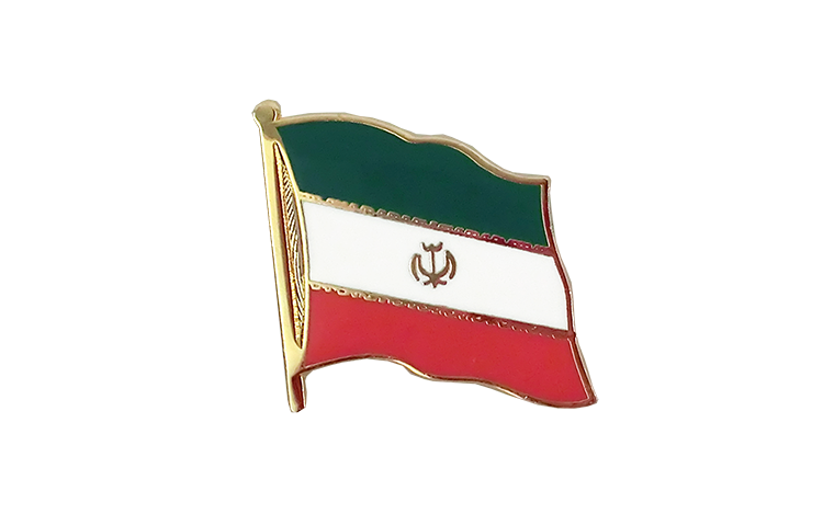 Flag Lapel Pin Iran