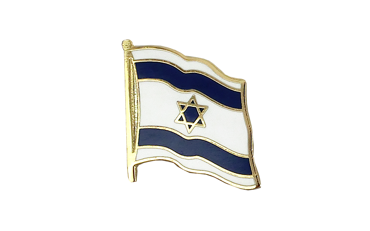 Flag Lapel Pin Israel