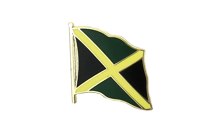 Flag Lapel Pin Jamaica